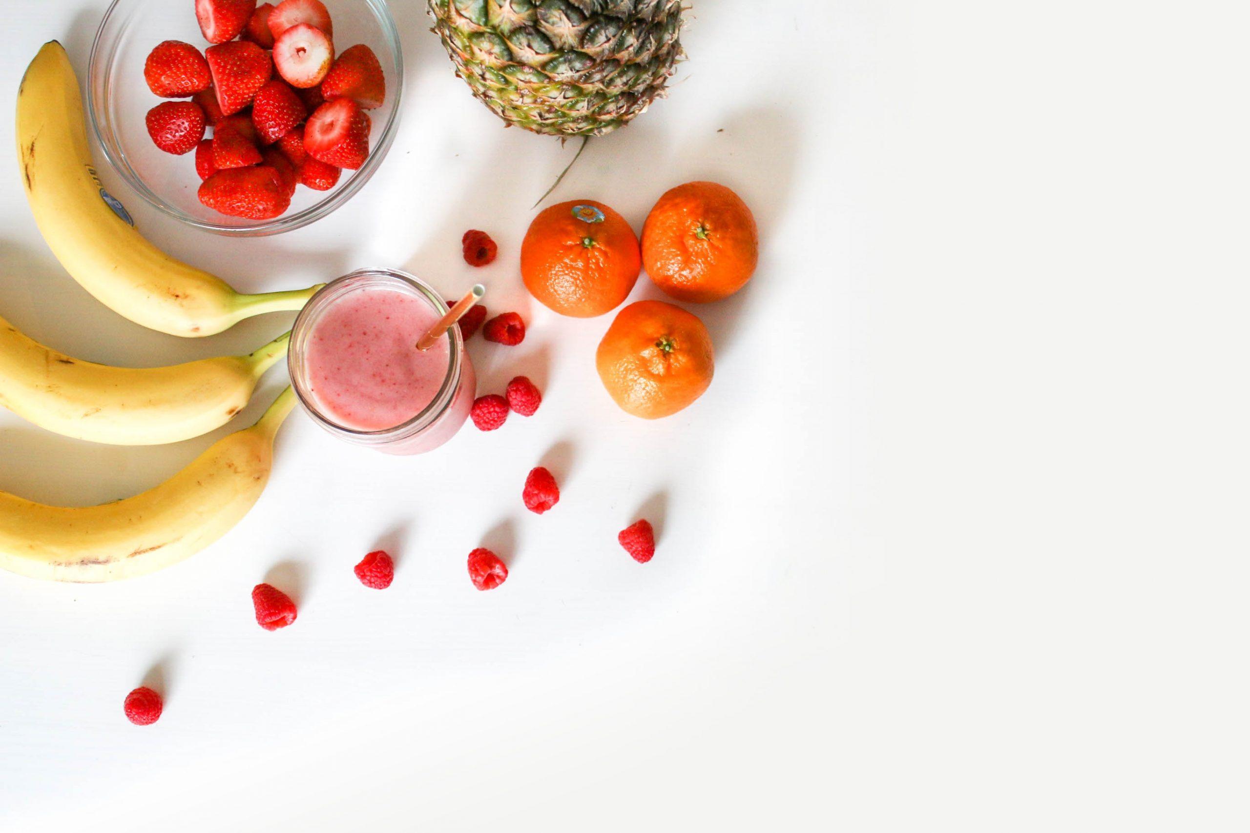 Frutas, Dieta